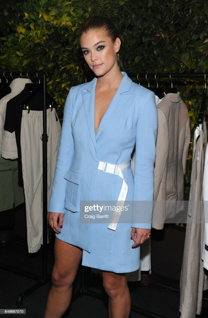 Nina Agdal attends the Whyte Studio NYFW Launch Dinner hosted by Bianca Whyte and Jamie Frankel at Hotel Hugo on September 13, 2017 in New York City.