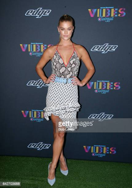 Nina Agdal partners with Edge Shave Gel to celebrate the launch of this year's Sports Illustrated Swimsuit Issue at the SI VIBES Festival on February...