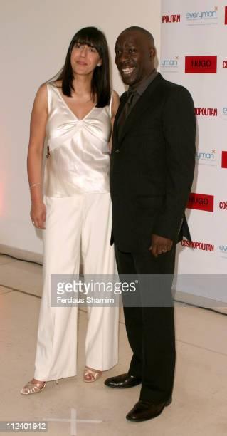 Nina Ahmad editor of Cosmopolitan and Gary Beadle