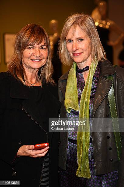 "Nina Anderson and Jill Cervant attend the MOCA Leadership Circle reception and members' opening for ""The Total Look: The Creative Collaboration..."