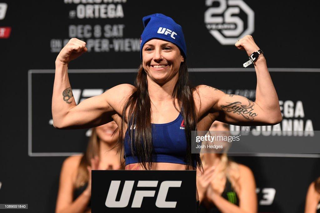 UFC 231: Weigh-ins : Nieuwsfoto's