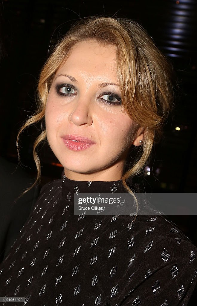 Nina Arianda poses at The Opening Night for the MTC production of Sam Shepard's 'Fool For Love' on Broadway at Urbo NYC on October 8, 2015 in New York City.