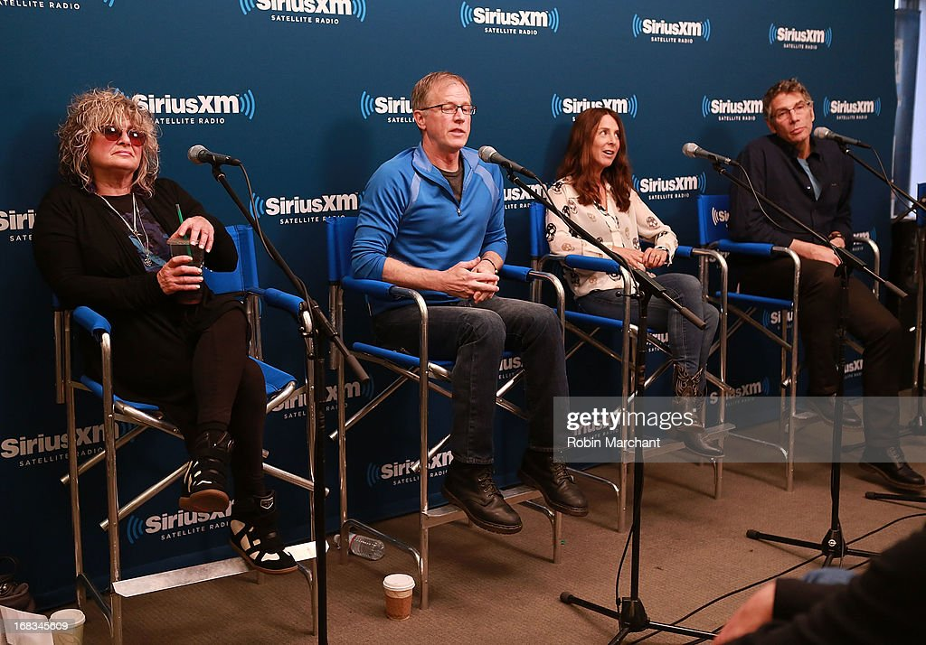 Celebrities Visit SiriusXM Studios - May 8, 2013 : News Photo