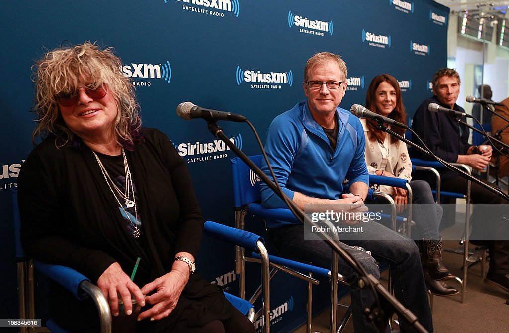 Celebrities Visit SiriusXM Studios - May 8, 2013 : News Photo