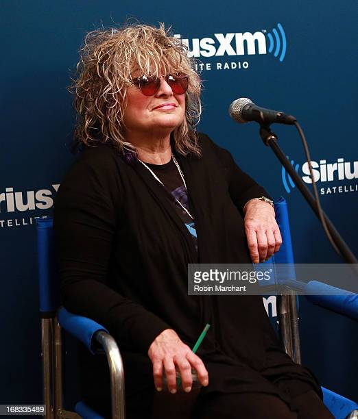 Nina Blackwood attends SiriusXM's Town Hall With the Original MTV VJs at SiriusXM Studios on May 8 2013 in New York City