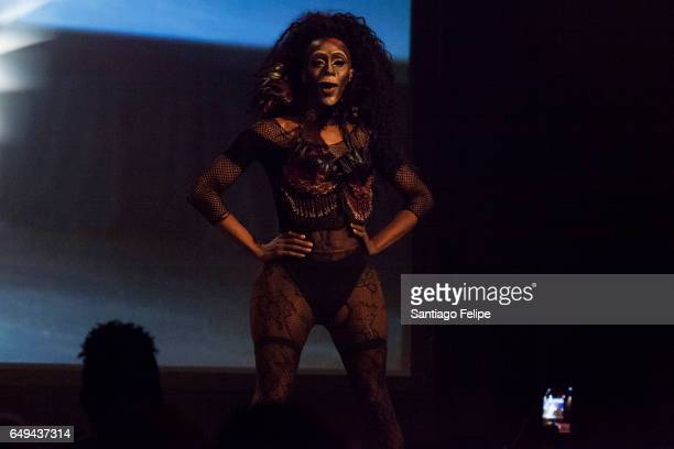 Nina Bo' Nina Brown performs onstage during RuPaul's Drag Race Season 9 Premiere Party Meet The Queens Event at PlayStation Theater on March 7 2017...