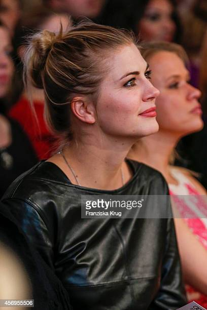 Nina Bott attends the Audi Fashion Award 2014 on October 09 2014 in Hamburg Germany