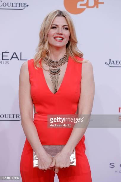 Nina Bott attends the Lola German Film Award red carpet at Messe Berlin on April 28 2017 in Berlin Germany