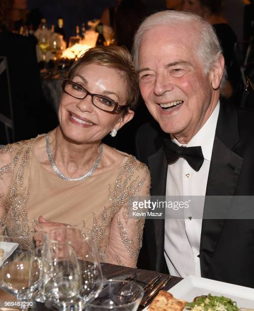 Nina Bruce Warren and Nick Clooney attend the American Film Institute's 46th Life Achievement Award Gala Tribute to George Clooney at Dolby Theatre...