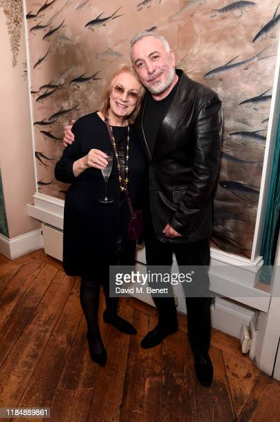 Nina Campbell and Sig Bergamin attend the book signing cocktail party celebrating Brazilian designer, Sig Bergamin, hosted by De Gournay and...