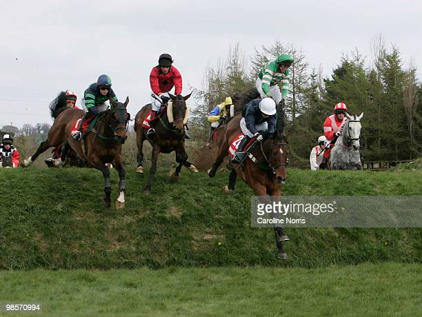 Nina Carberrry on Zest For Life lands before going on to win from 2nd placed Katie Walsh on Wedger Pardy while Tom Addis parts company from Chance...