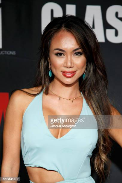 Nina Carla at the premiere of 'Glass Jaw' at Universal Studios Hollywood on November 9 2017 in Universal City California
