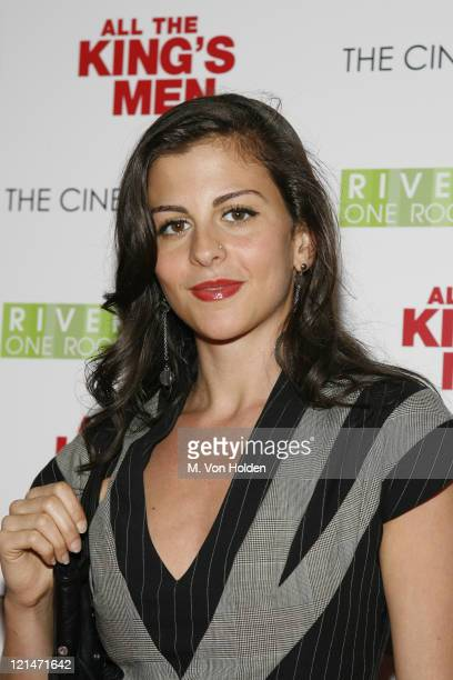 """Nina Clemente during The Cinema Society Screening of """"All the Kings Men"""" at Regal Cinema Battery Park in New York, NY, United States."""