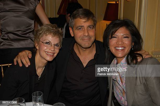 Nina Clooney George Clooney and Julie Chen attend Walter Cronkite Hosts a Private Screening of Warner Independent Pictures' Good Night And Good Luck...