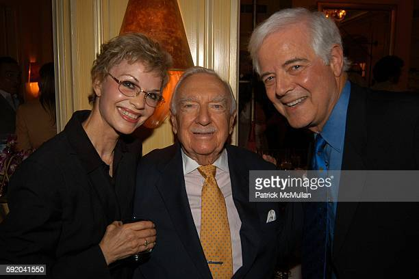 Nina Clooney Walter Cronkite and Nick Clooney attend Walter Cronkite Hosts a Private Screening of Warner Independent Pictures' Good Night And Good...