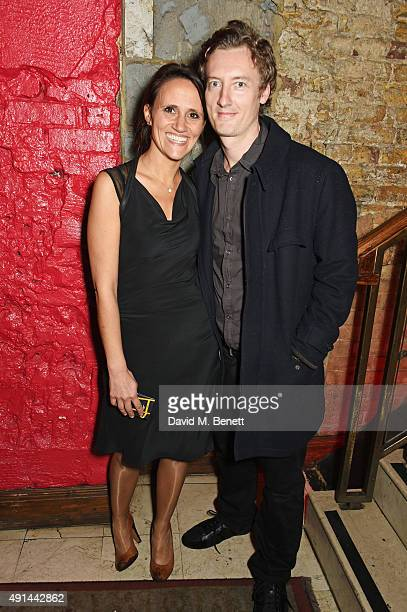 Nina Conti and Stan Stanley attend the press night after party for 'The Father' at Salvador Amanda on October 5 2015 in London England