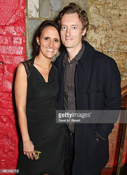Nina Conti and Stan Stanley attend the press night after party for The Father at Salvador Amanda on October 5 2015 in London England