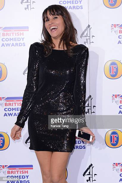 Nina Conti attends the British Comedy Awards at Fountain Studios on December 12 2013 in London England