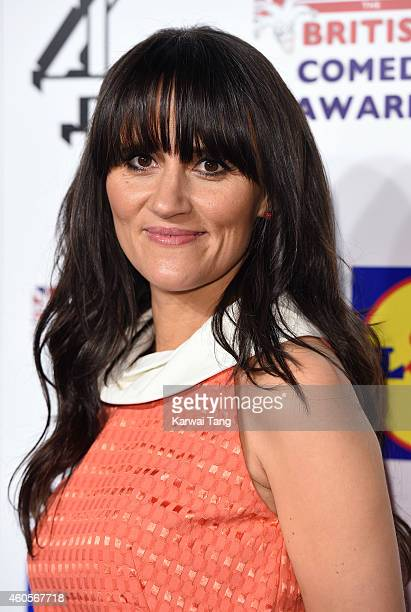 Nina Conti attends the British Comedy Awards at Fountain Studios on December 16 2014 in London England