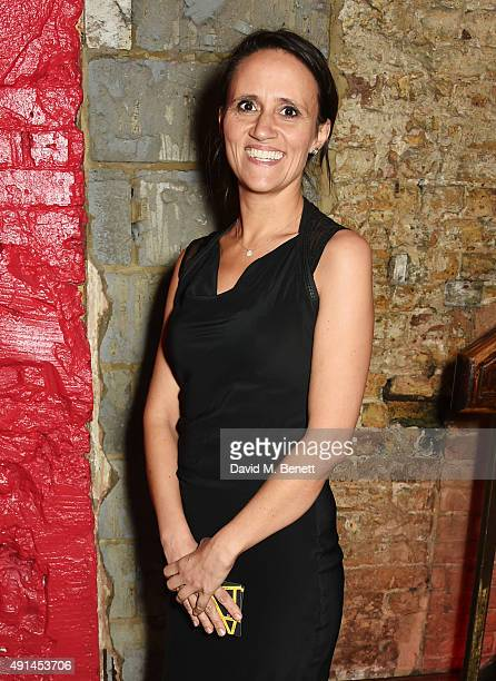 Nina Conti attends the press night after party for 'The Father' at Salvador Amanda on October 5 2015 in London England