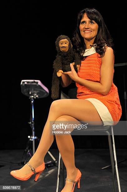 Nina Conti performs her show In Your Face at the Criteron Theatre in London