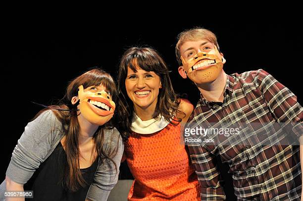 Nina Conti performs her show In Your Face with members of the audience at the Criteron Theatre in London