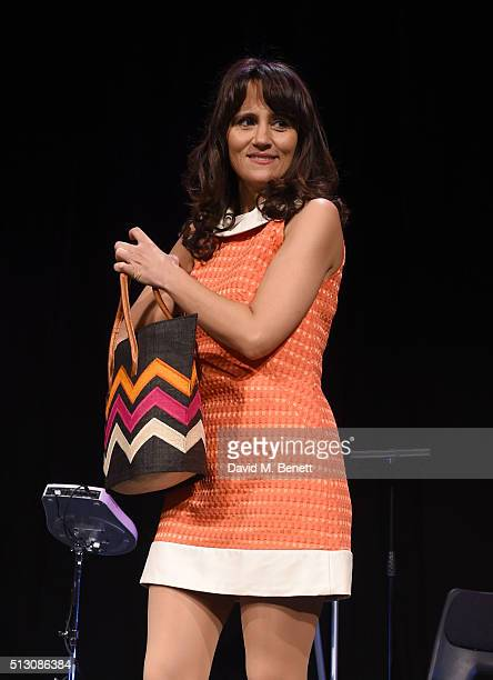 Nina Conti poses at a photocall for 'Nina Conti In Your Face' at The Criterion Theatre on February 29 2016 in London England