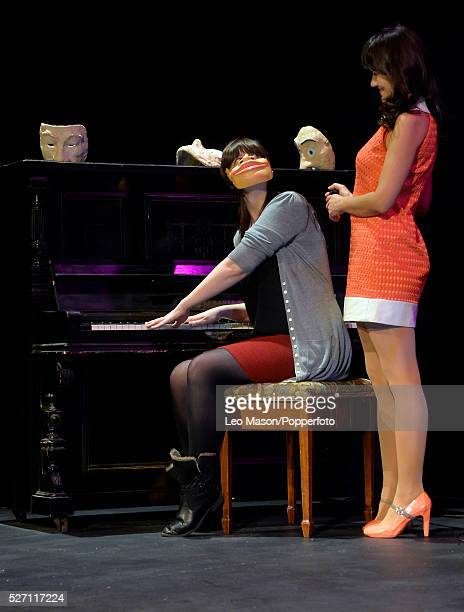 Nina Conti smash hit shoe IN YOUR FACE at the Criterion Theatre London UK