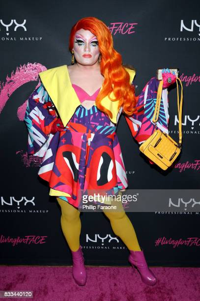 Nina Cordona at the FACE Awards International Welcome Party at Andaz Hotel on August 16 2017 in Los Angeles California