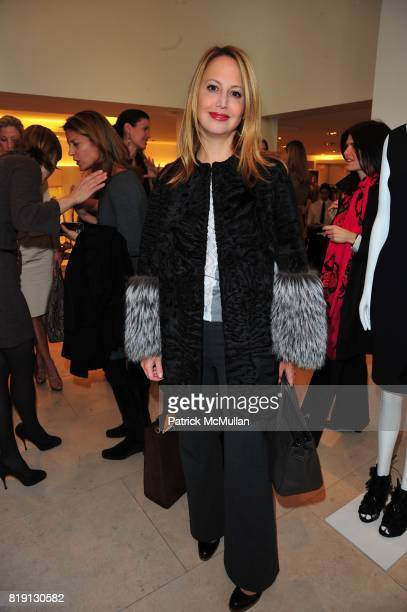 Nina Davidson attends VALENTINO Spring/ Summer 2010 Collection Private Luncheon and Presentation hosted by Samantha Boardman Rosen Shala Monroque...