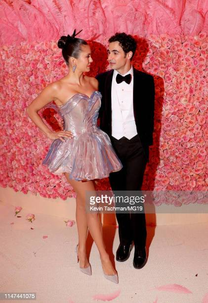 Nina Dobrev and Zac Posen attend The 2019 Met Gala Celebrating Camp Notes on Fashion at Metropolitan Museum of Art on May 06 2019 in New York City
