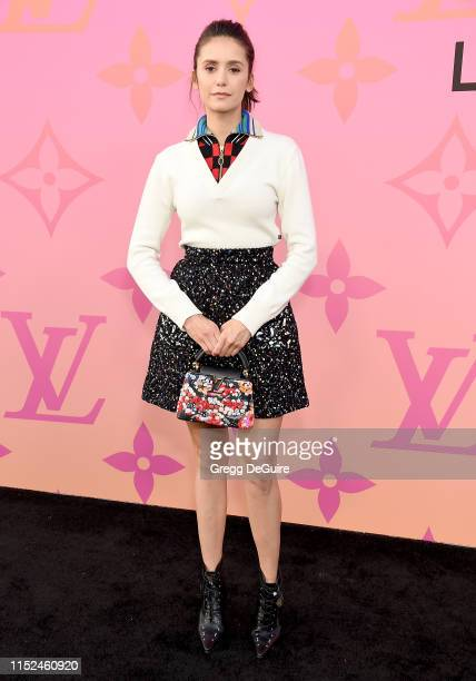 Nina Dobrev arrives at Louis Vuitton Unveils Louis Vuitton X An Immersive Journey at Louis Vuitton X on June 27 2019 in Beverly Hills California