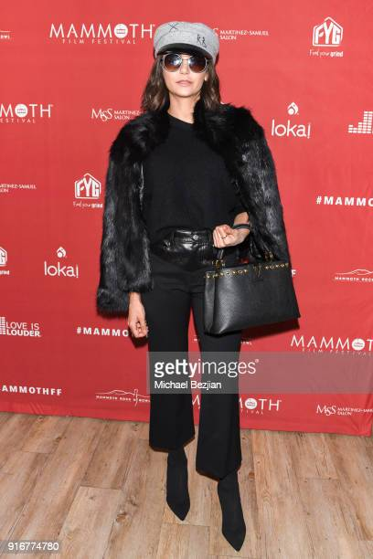 Nina Dobrev arrives at The Inaugural Mammoth Film Festival on February 10 2018 in Mammoth Lakes California
