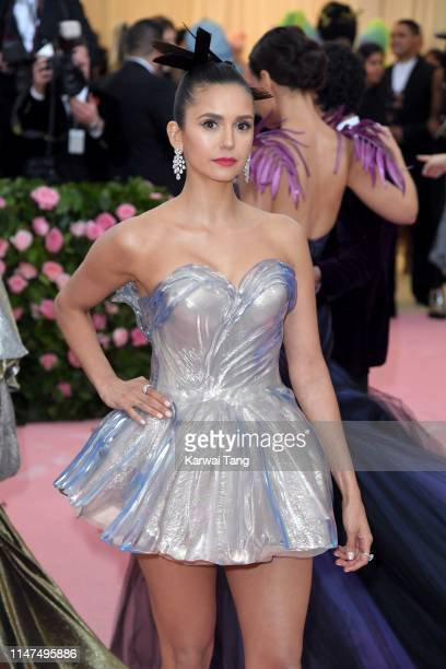 Nina Dobrev arrives for the 2019 Met Gala celebrating Camp Notes on Fashion at The Metropolitan Museum of Art on May 06 2019 in New York City