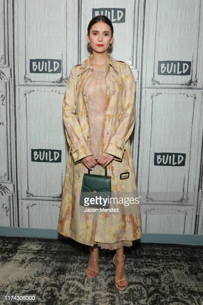 Nina Dobrev at Build Studio on October 7, 2019 in New York City.