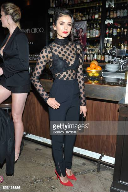 Nina Dobrev at the Power Stylists Dinner hosted by The Hollywood Reporter and Jimmy Choo on March 14 2017 in West Hollywood California