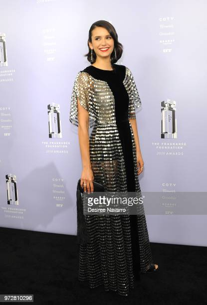 Nina Dobrev attends 2018 Fragrance Foundation Awards at Alice Tully Hall at Lincoln Center on June 12 2018 in New York City