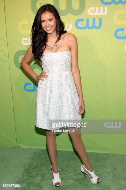 Nina Dobrev attends CW Network 2009 Upfront at Madison Square Garden on May 21 2009 in New York City