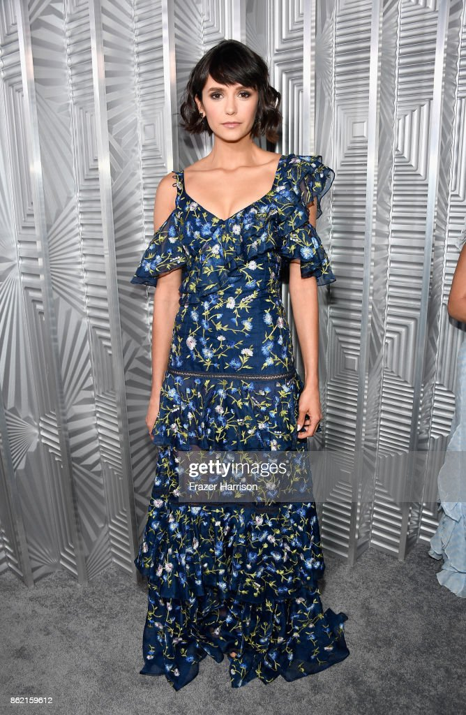 Nina Dobrev attends ELLE's 24th Annual Women in Hollywood Celebration presented by L'Oreal Paris, Real Is Rare, Real Is A Diamond and CALVIN KLEIN at Four Seasons Hotel Los Angeles at Beverly Hills on October 16, 2017 in Los Angeles, California.
