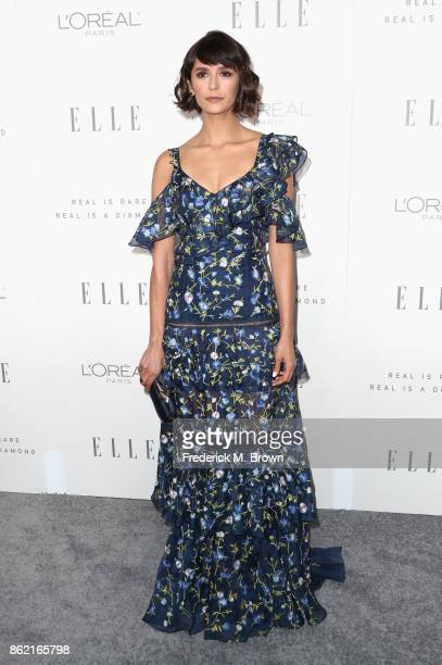 Nina Dobrev attends ELLE's 24th Annual Women in Hollywood Celebration at Four Seasons Hotel Los Angeles at Beverly Hills on October 16 2017 in Los...