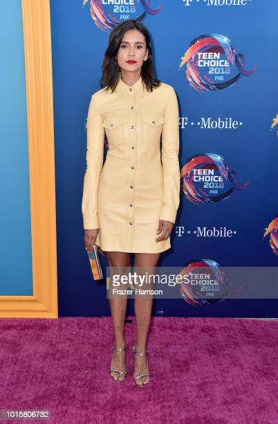 Nina Dobrev attends FOX's Teen Choice Awards at The Forum on August 12 2018 in Inglewood California
