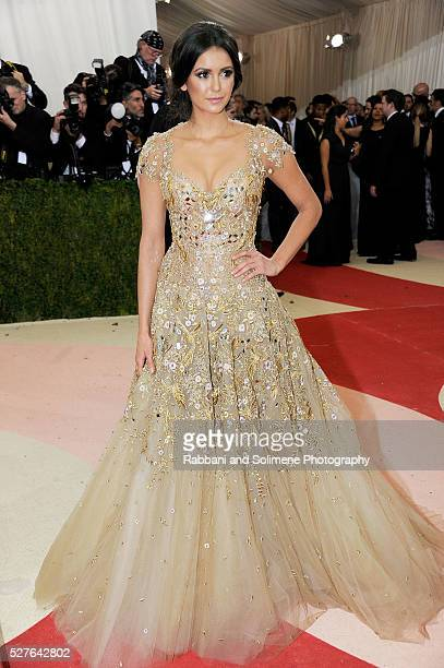 Nina Dobrev attends 'Manus x Machina Fashion In An Age Of Technology' Costume Institute Gala at