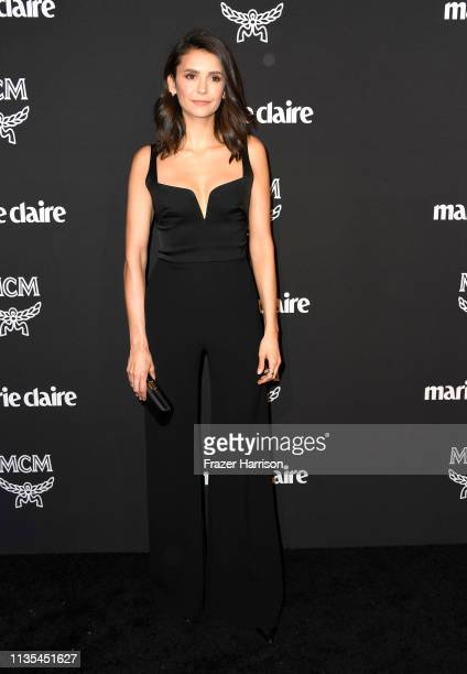 Nina Dobrev attends Marie Claire Change Makers Celebration at Hills Penthouse on March 12 2019 in West Hollywood California