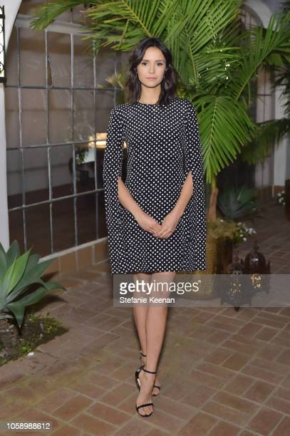 Nina Dobrev attends Michael Kors Dinner to celebrate Kate Hudson and The World Food Programme on November 7 2018 in Beverly Hills California