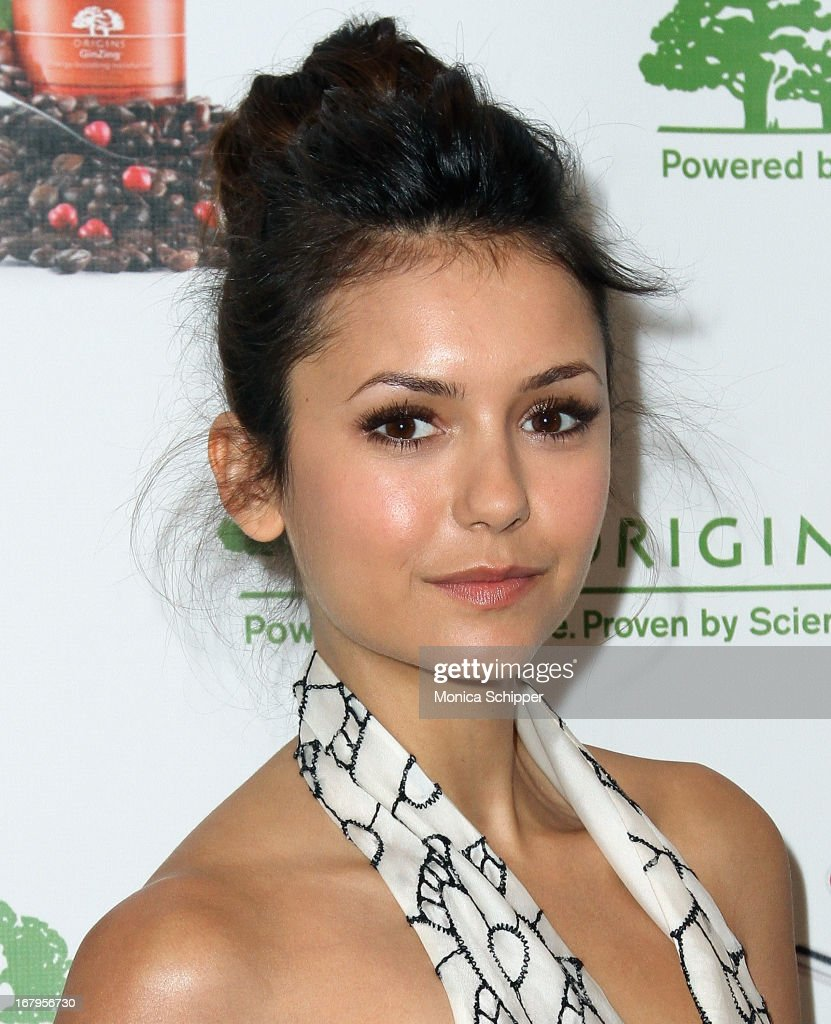 Nina Dobrev attends Origins 'GinZing' Launch Event at Origins 5th Avenue on May 3, 2013 in New York City.
