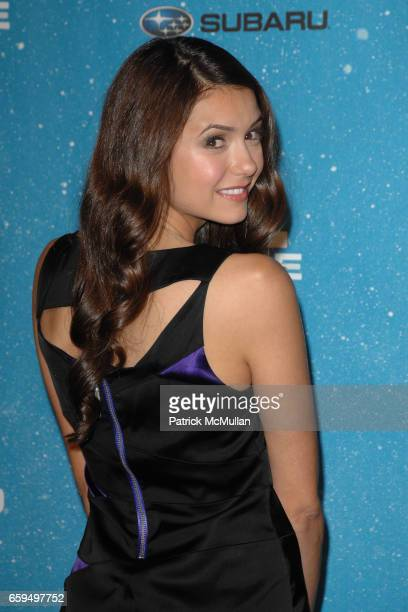 Nina Dobrev attends SPIKE TV'S 'SCREAM 2009' at The Geek Theatre on October 17 2009 in Los Angeles CA