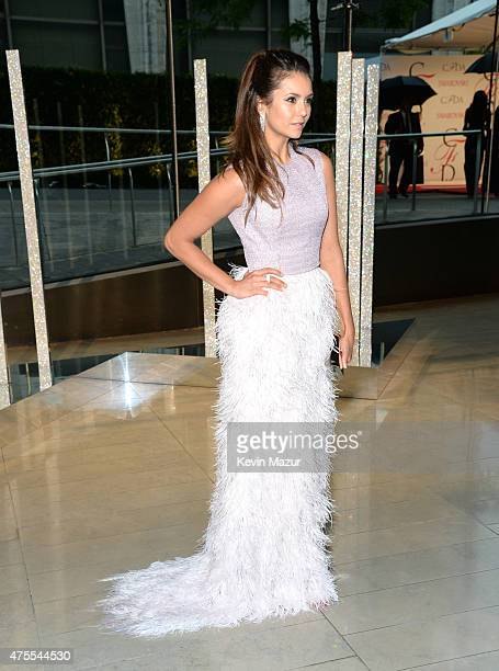 Nina Dobrev attends the 2015 CFDA Fashion Awards at Alice Tully Hall at Lincoln Center on June 1, 2015 in New York City.