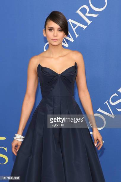 Nina Dobrev attends the 2018 CFDA Awards at Brooklyn Museum on June 4 2018 in New York City