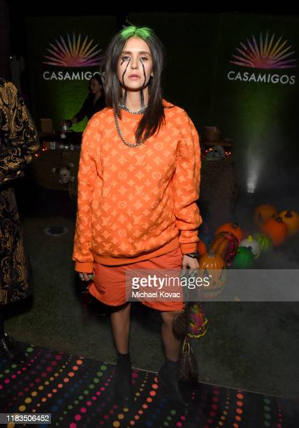 Nina Dobrev attends the 2019 Casamigos Halloween Party on October 25, 2019 at a private residence in Beverly Hills, California.