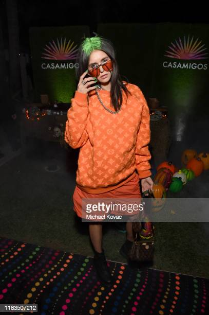 Nina Dobrev attends the 2019 Casamigos Halloween Party on October 25 2019 at a private residence in Beverly Hills California